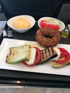 Veggie Inflight menu - Turkish Airlines