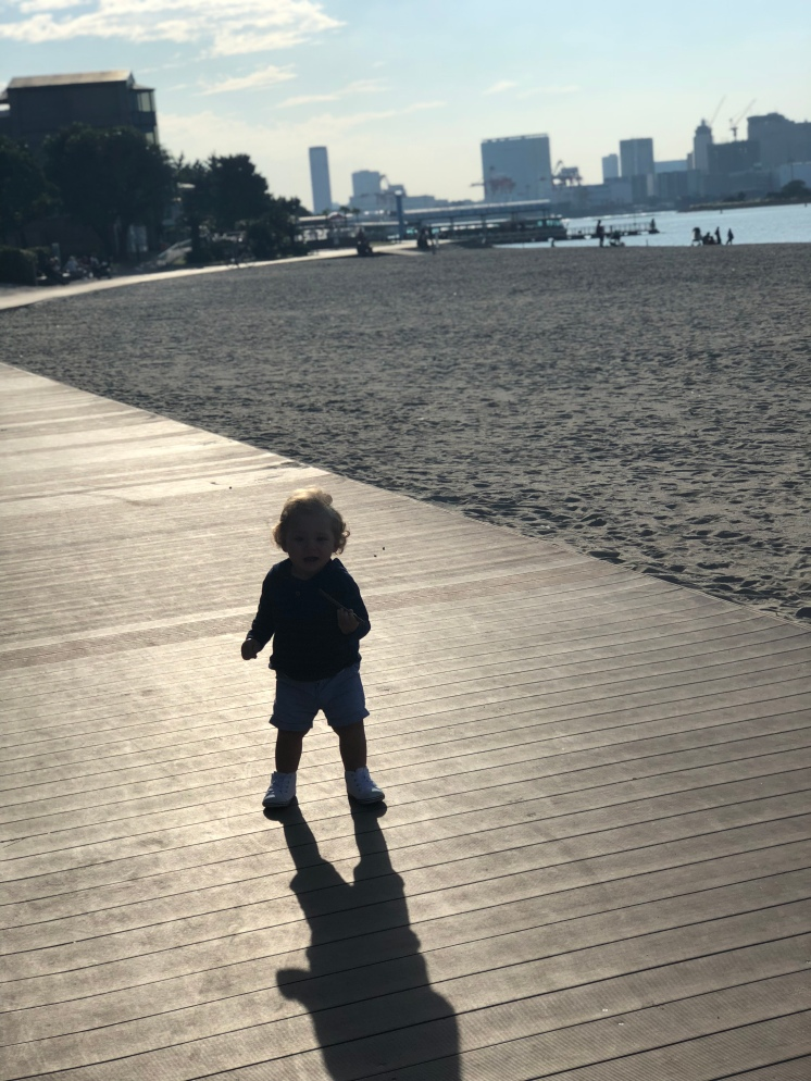 The Beach walk Odiaba